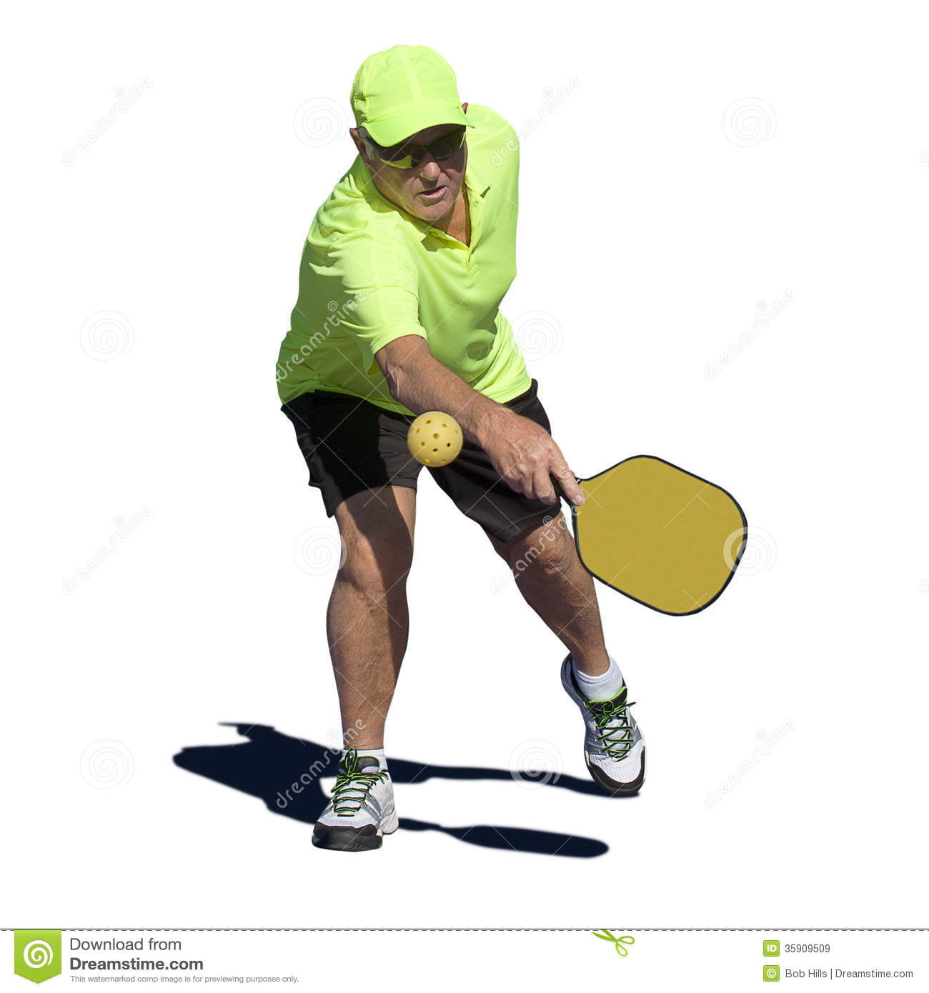 pickleball action senior male player hitting backhand pickleball clip art cartoon pickleball clipart pngs
