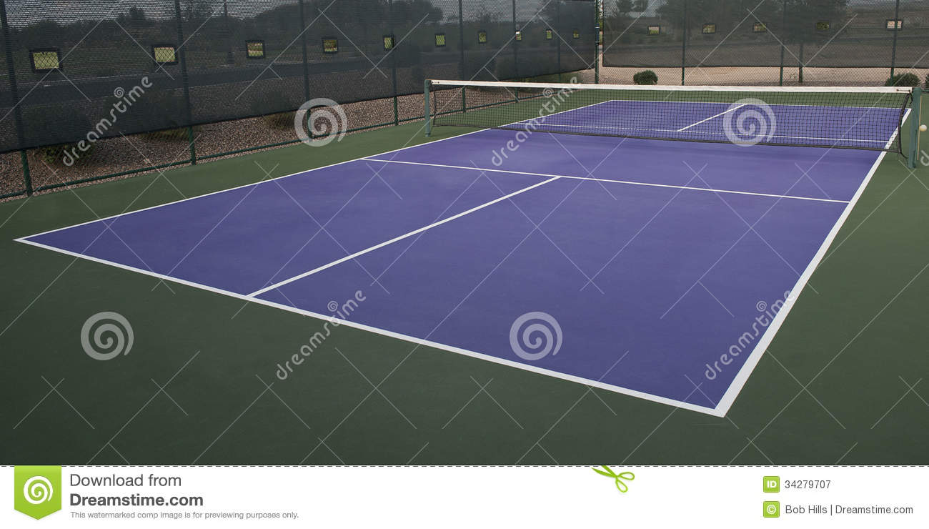 Pickleball Court Royalty Free Stock Photography Image