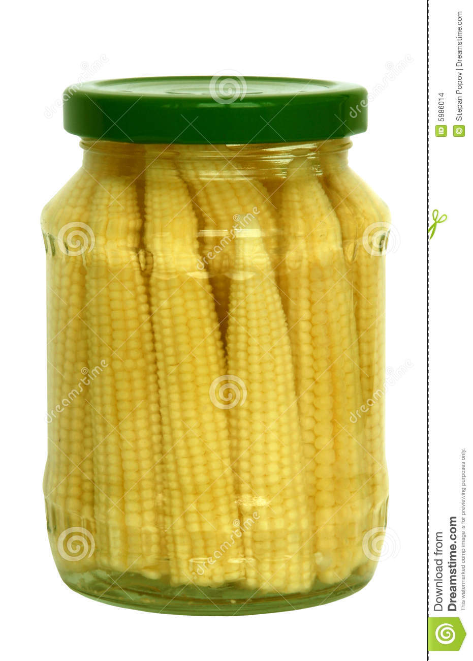 Pickled Baby Corn Cobs Stock Images - Image: 5986014