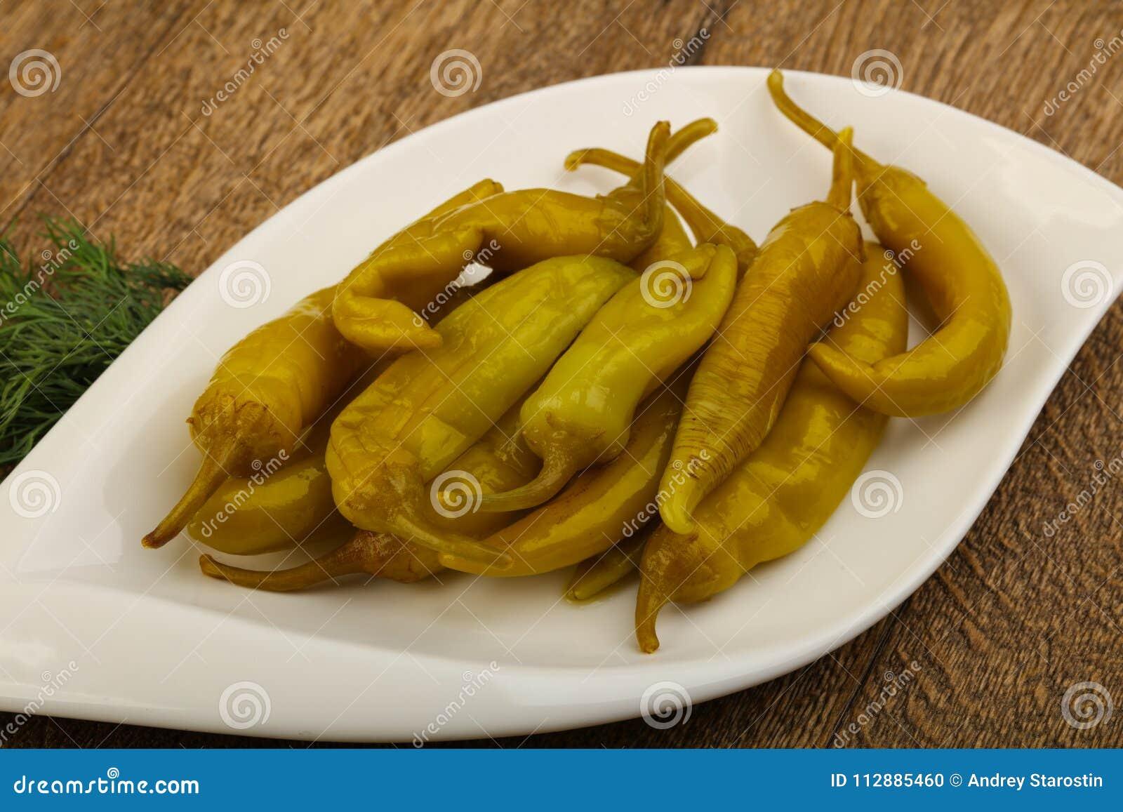 Pickled pepperoni pepper