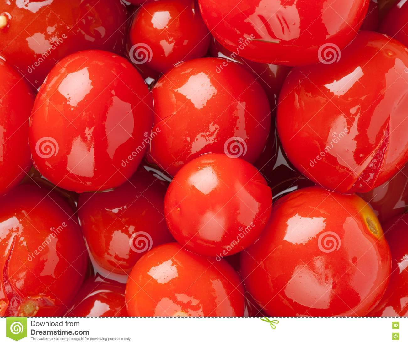 Pickled Red Tomatoes Royalty Free Stock Image - Image: 19703546