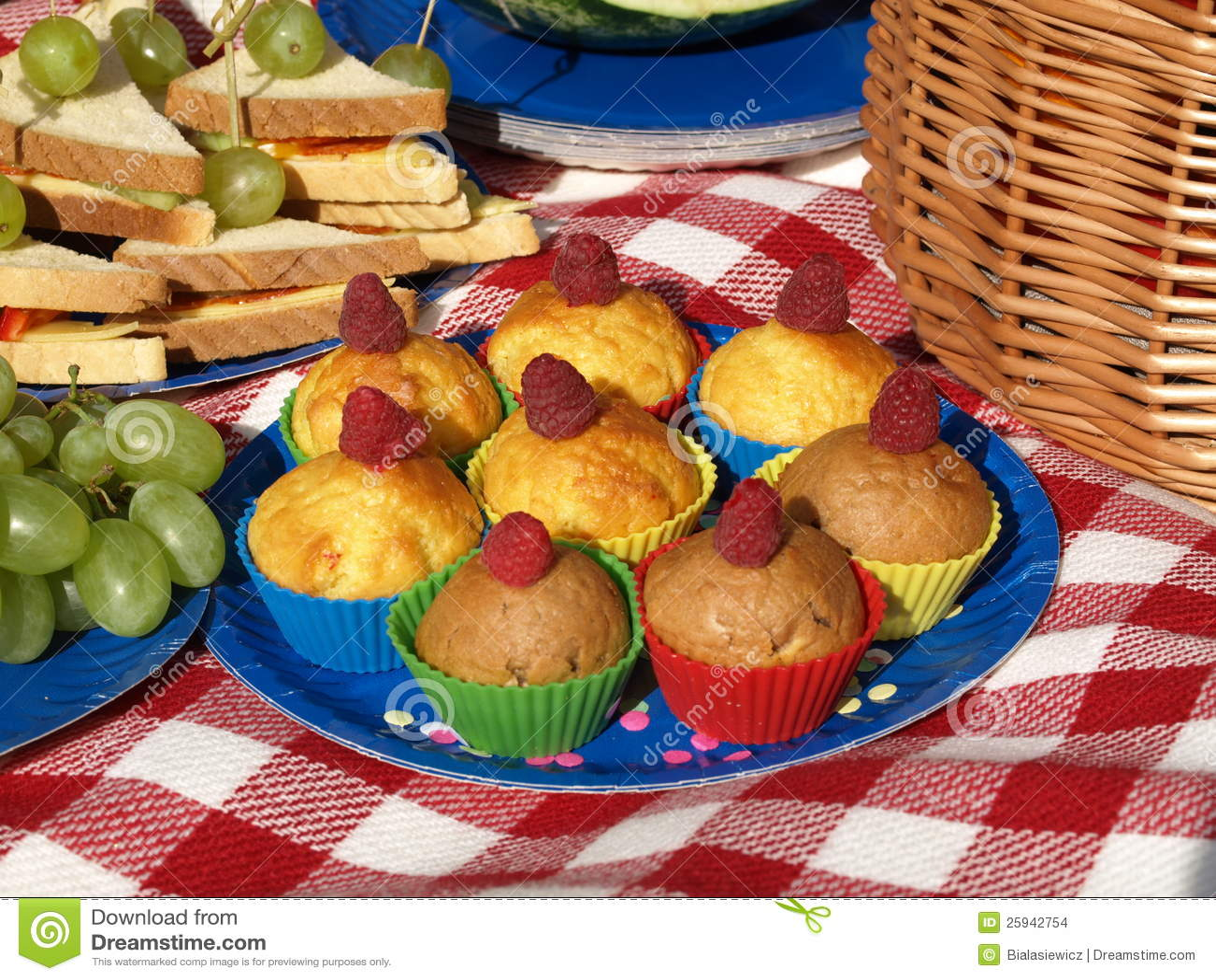 Picnic με muffins