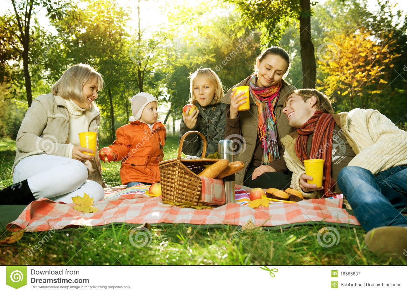 Picnic Royalty Free Stock Photography - Image: 16566687