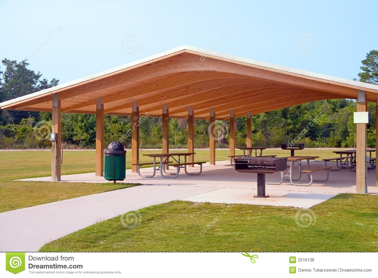 Picnic Area Royalty Free Stock Photos - Image: 2516138