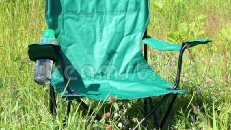 Cool A Picnic Chair Stands On A Light Flooded Meadow Herbs And Flowers Sway From The Summer Wind Creativecarmelina Interior Chair Design Creativecarmelinacom