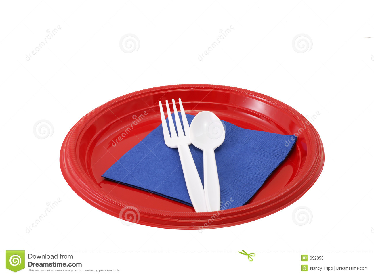 Picnic Place Setting Stock Photo Image Of Seasonal Theme