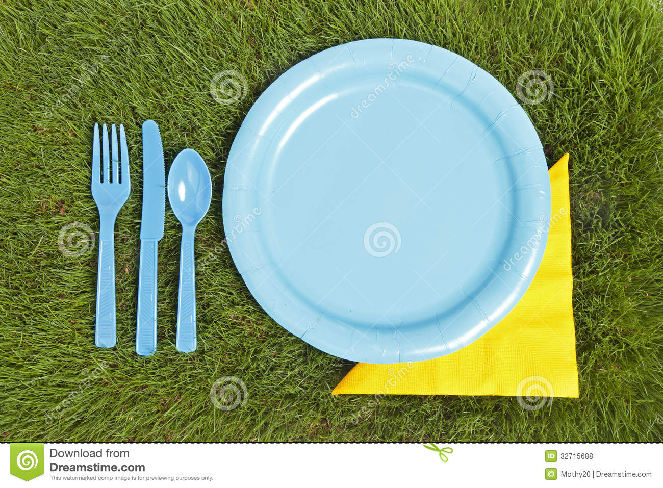 Picnic place setting for Place setting images