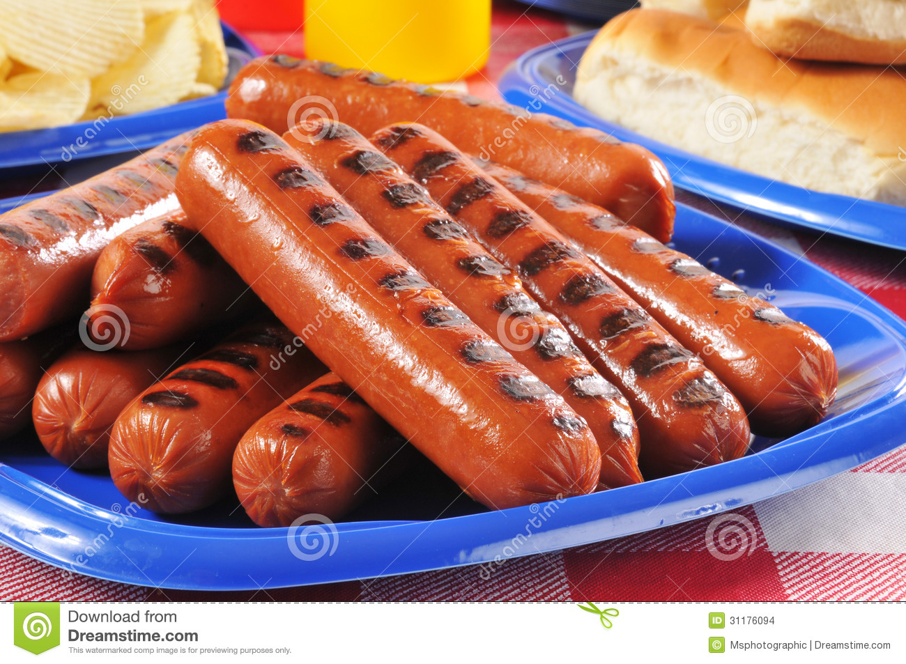 Hot Dogs Processed Meat