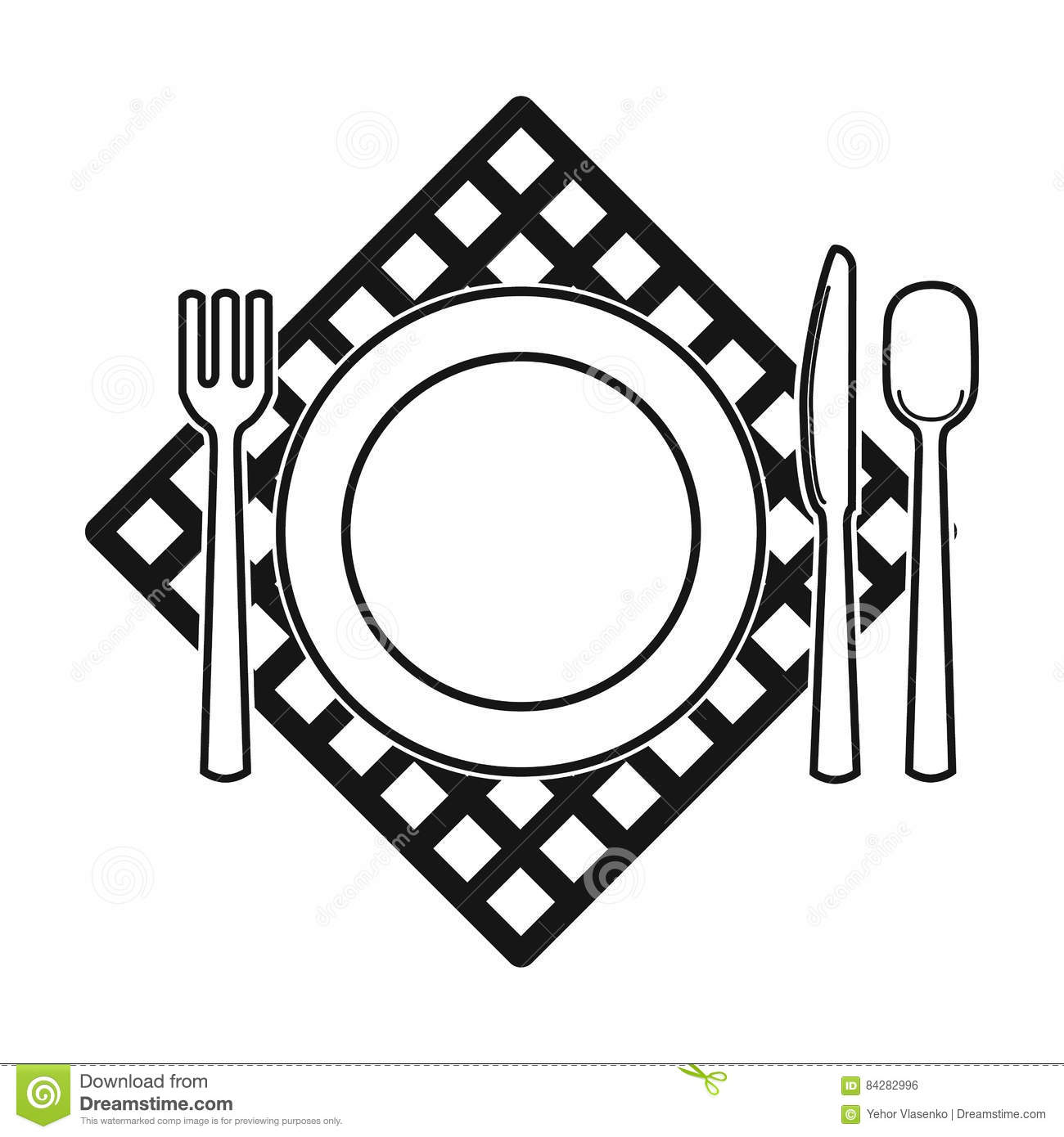 Picnic served table icon in black style isolated on white picnic served table icon in black style isolated on white background picnic symbol stock vector illustration biocorpaavc