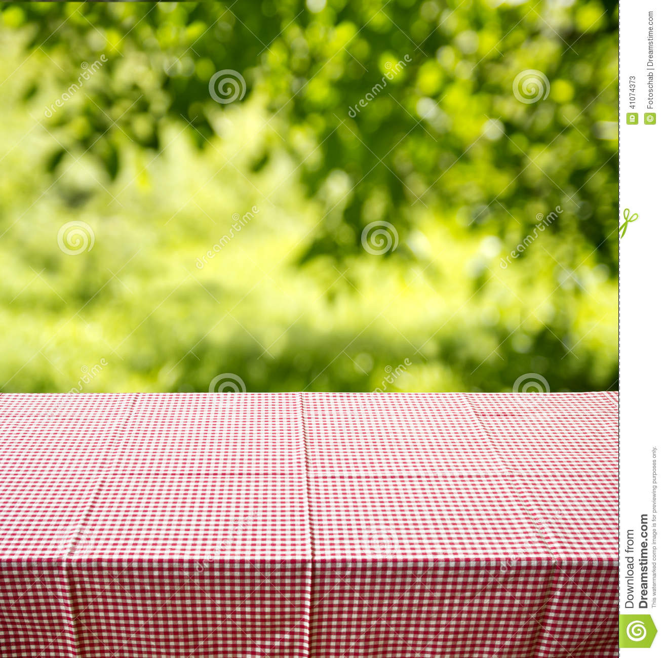 Picnic Table Background Stock Photo Image 41074373