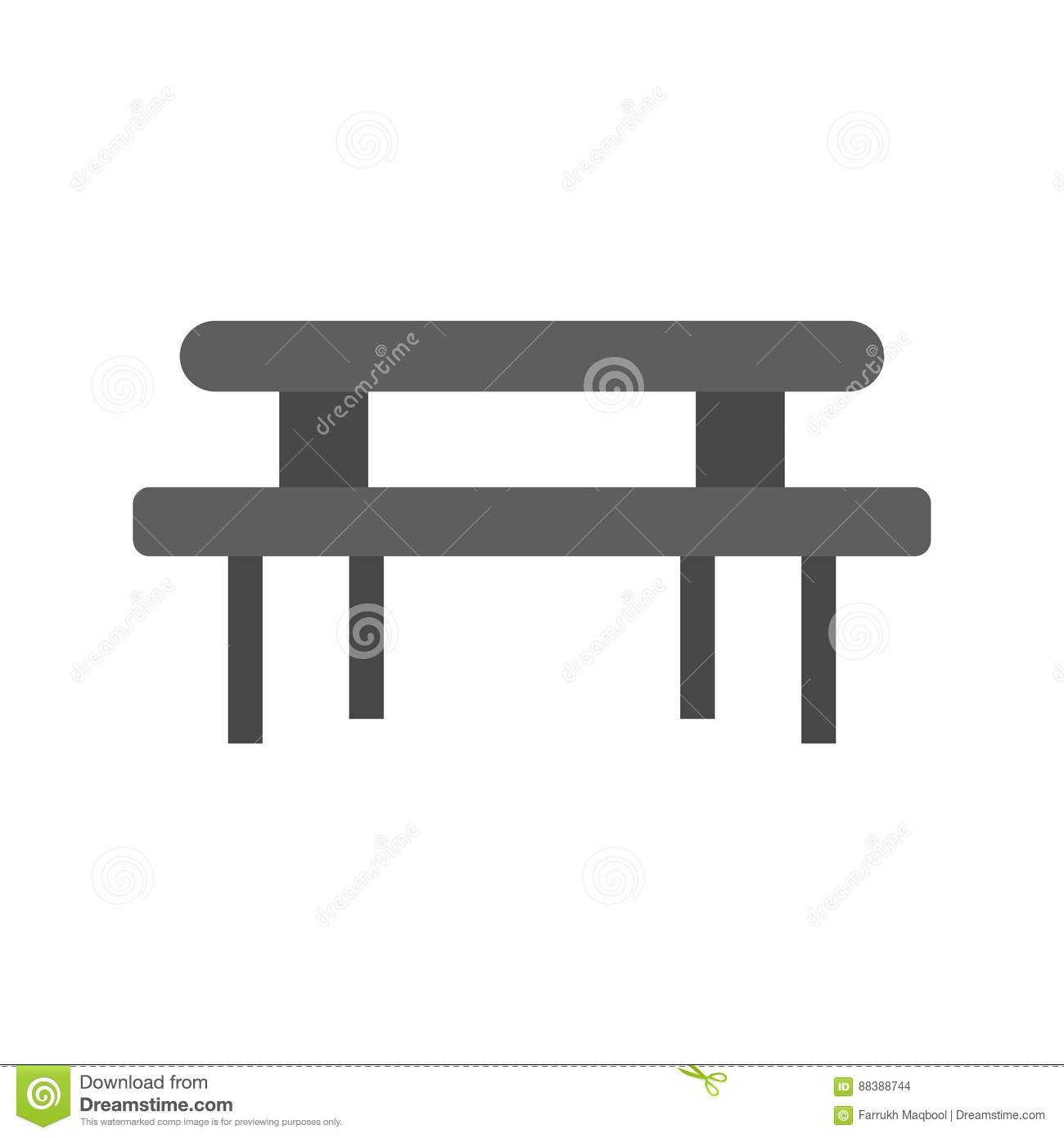 Picnic Of Table Stock Vector Illustration Of Design - Picnic table print
