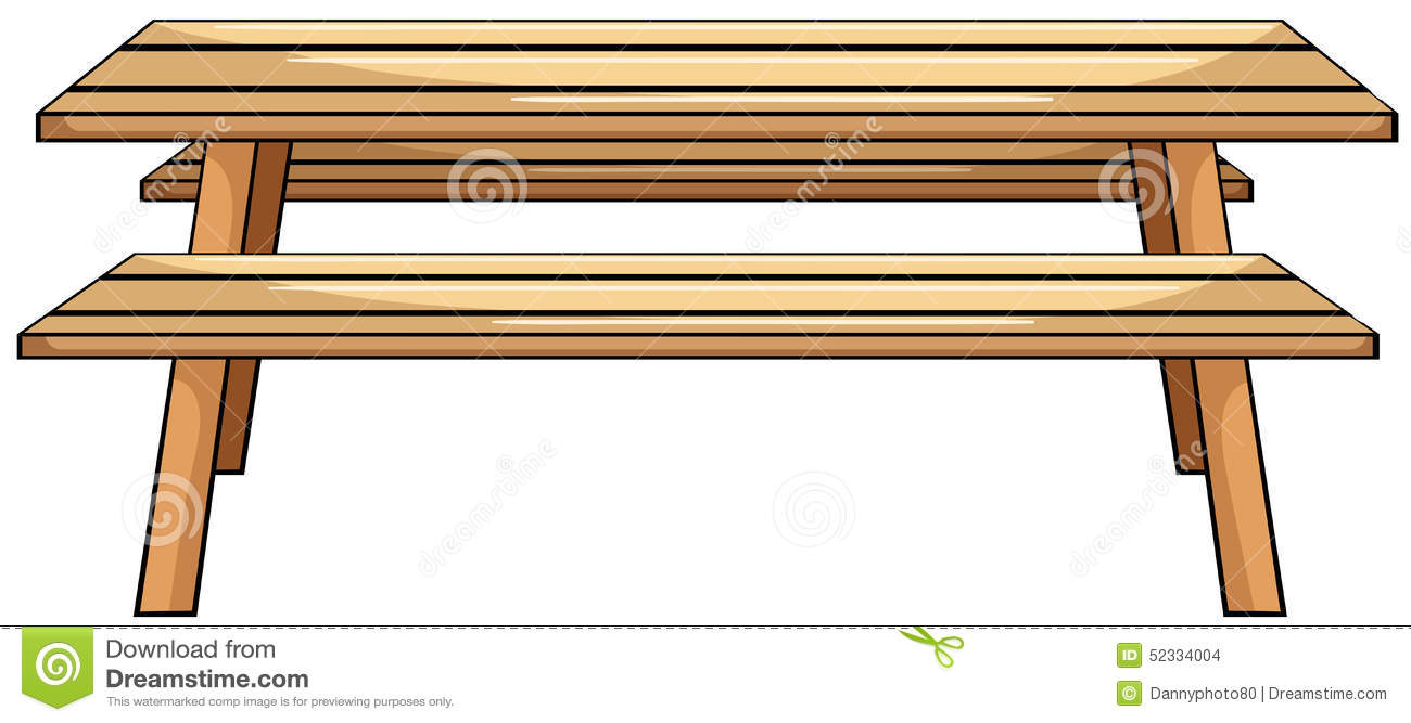 Picnic Table Clip Art Picnic table Stock Images