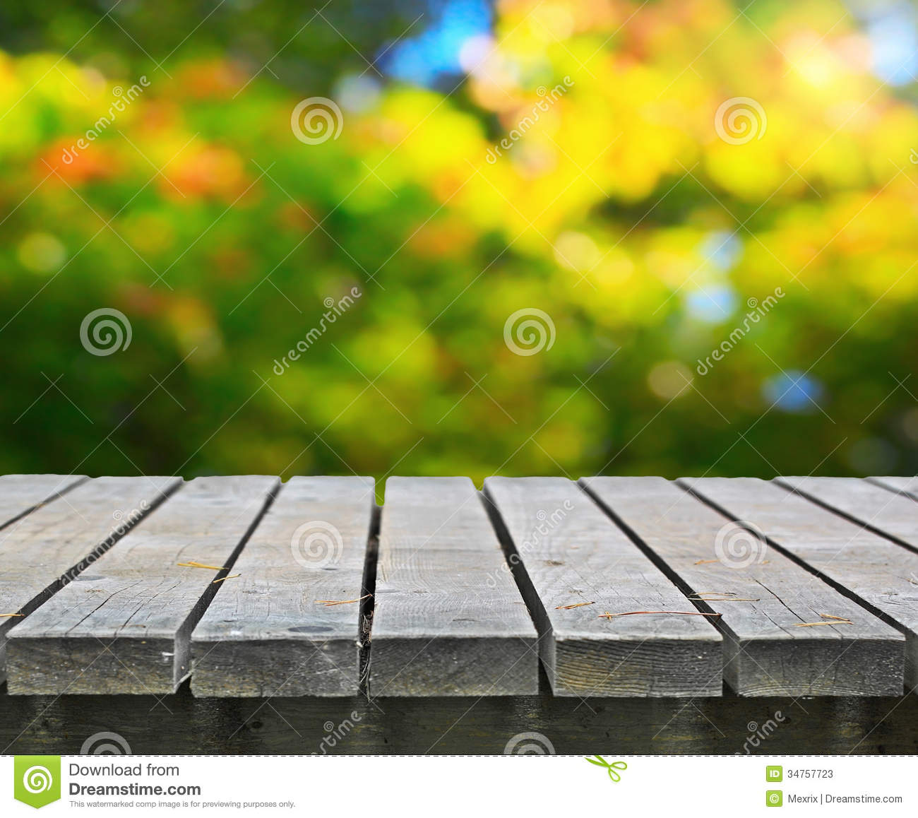 Picnic Table Stock Photos Image 34757723