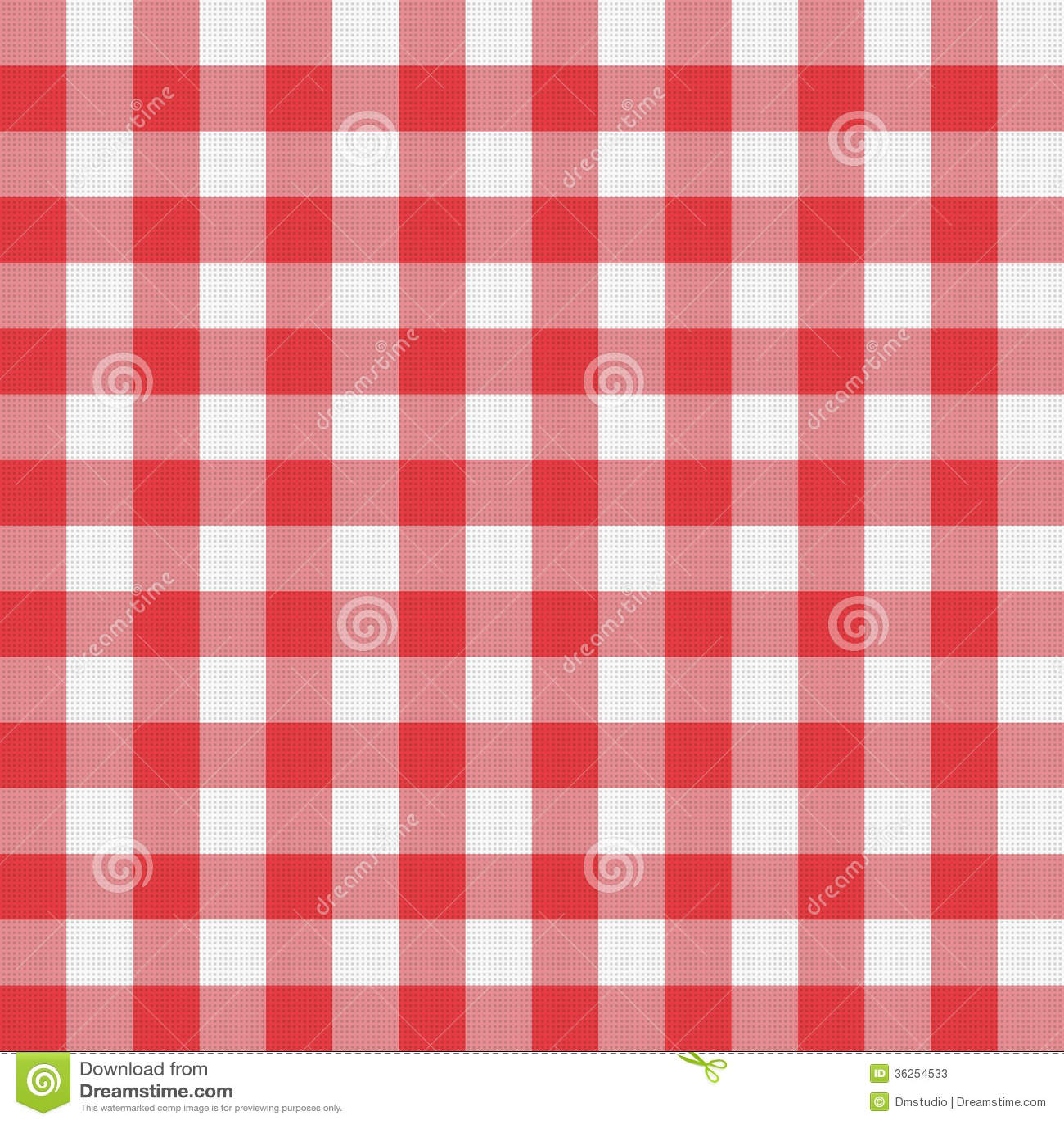 Vector Picnic Tablecloth Pattern Stock Photos Image