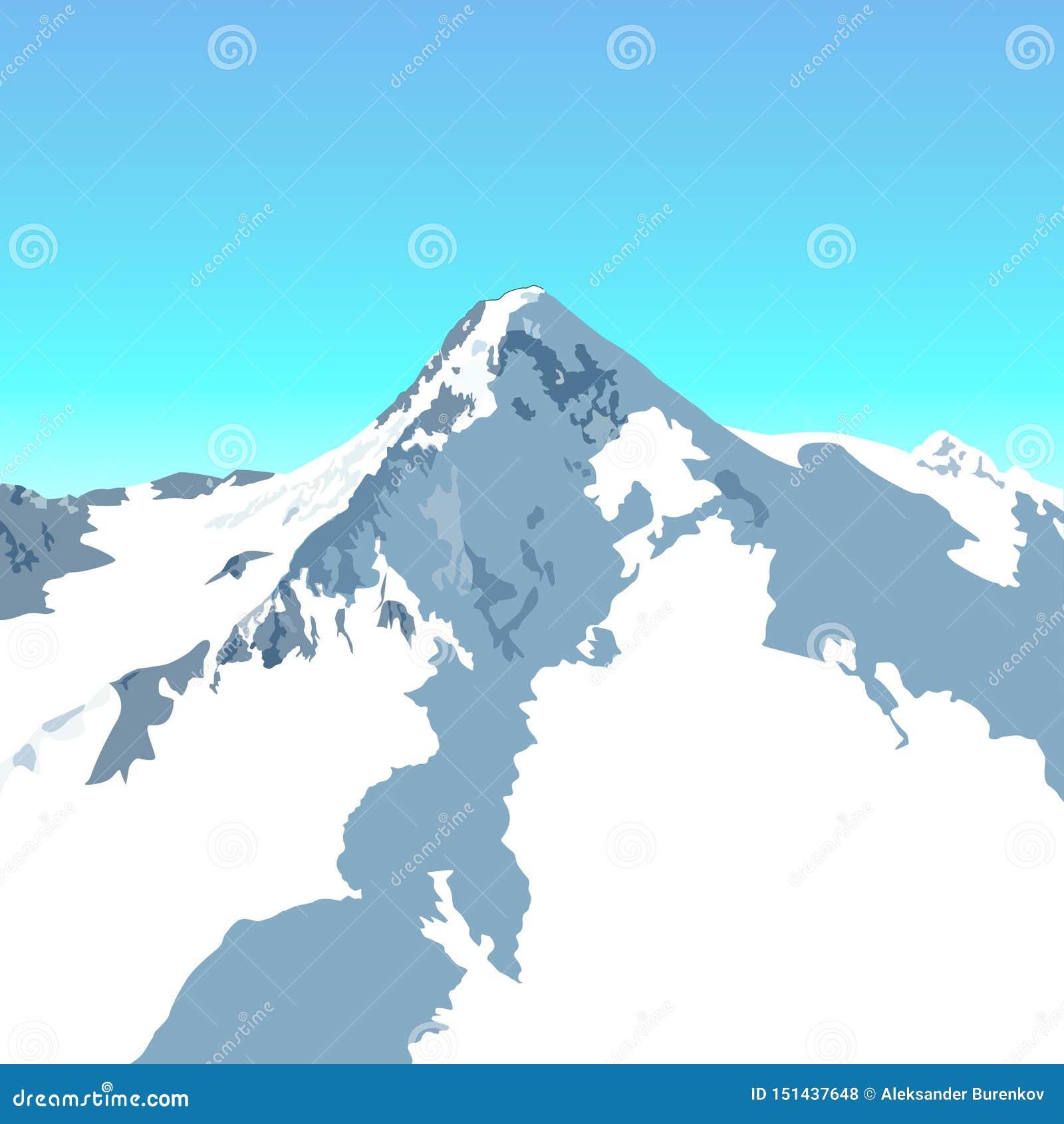 Pico alpino Nevado