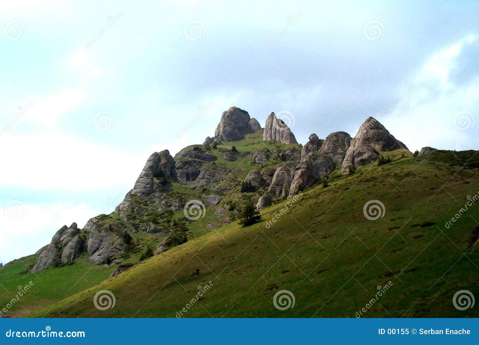 Pico de montanha