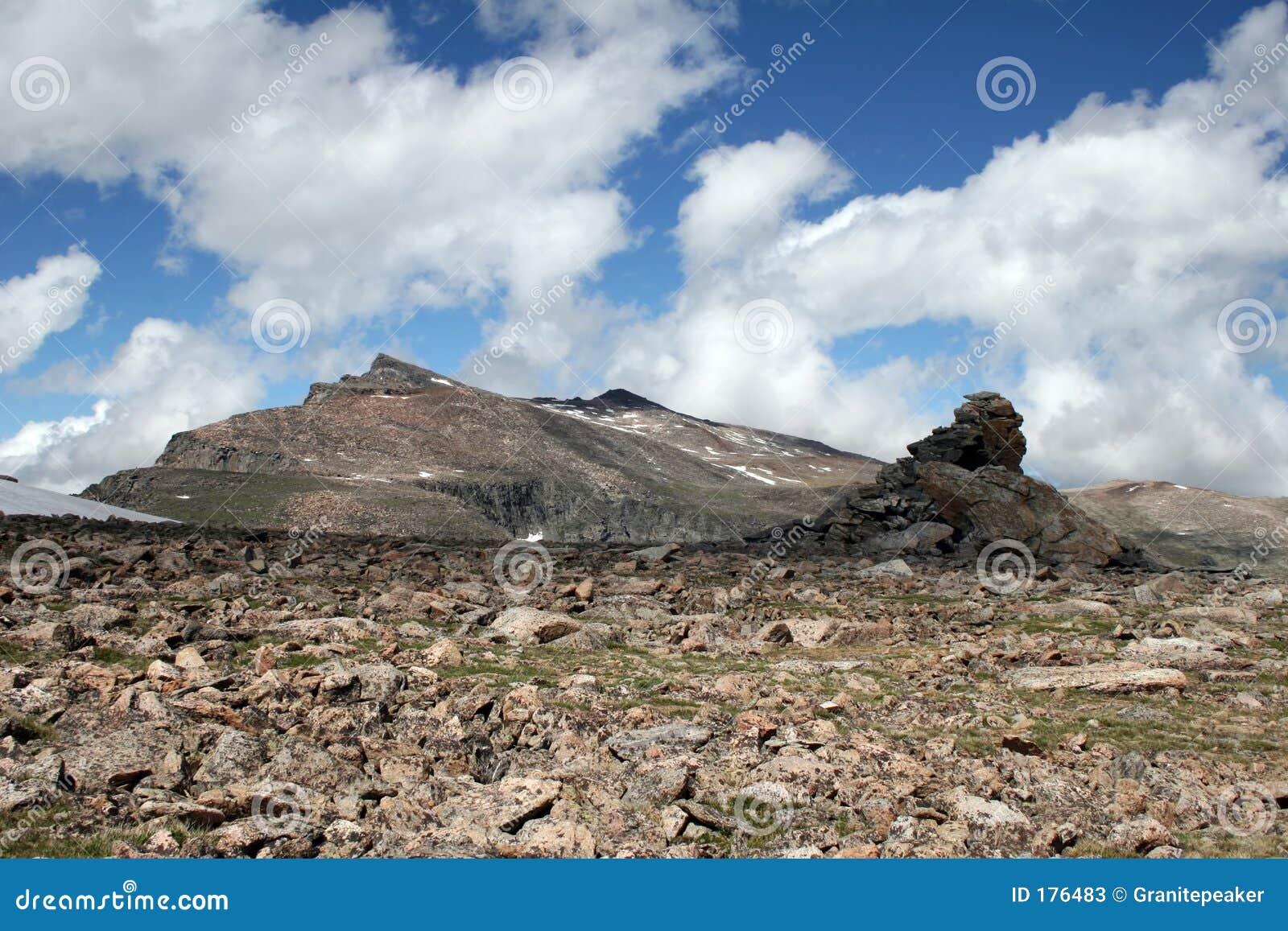Pico y meseta de la corrida de la plata