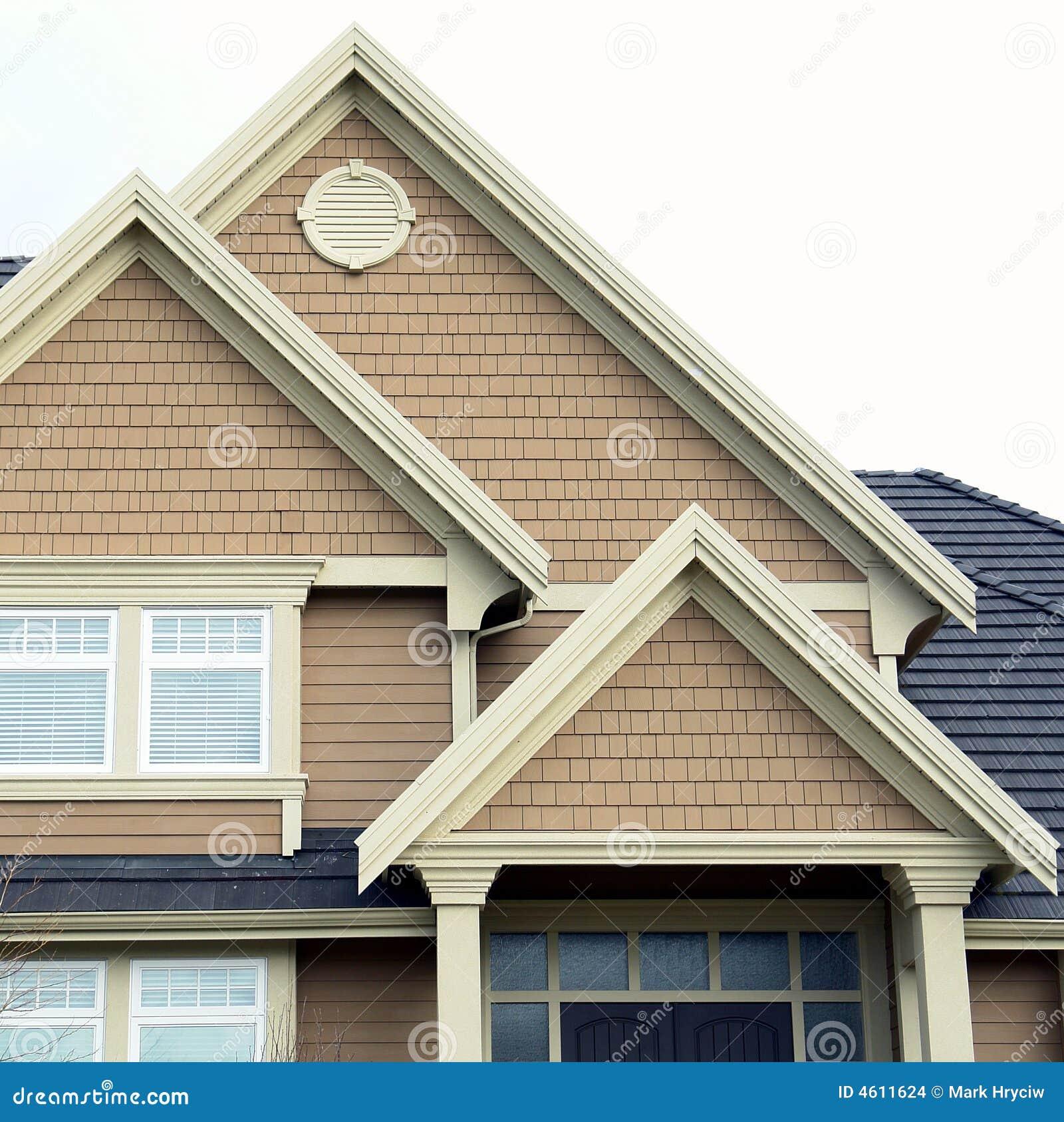 Picos Home do tapume do telhado da casa