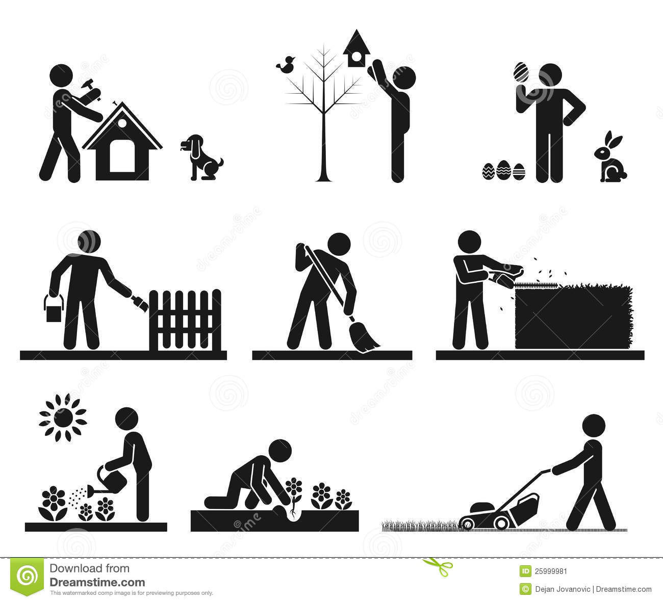 Pictogram Stock Image Image 25999981