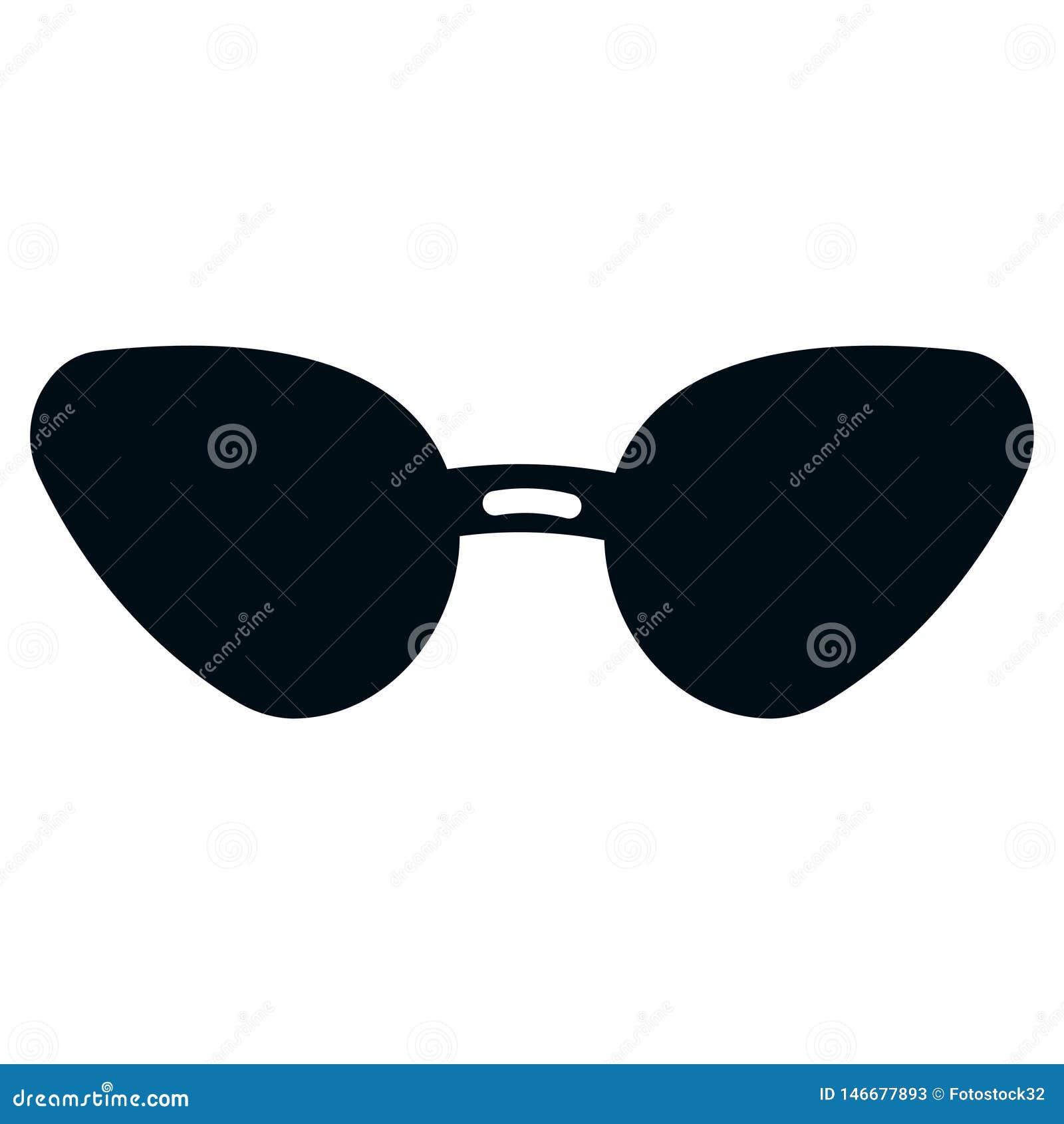 Pictogram van vrouwens zonnebril