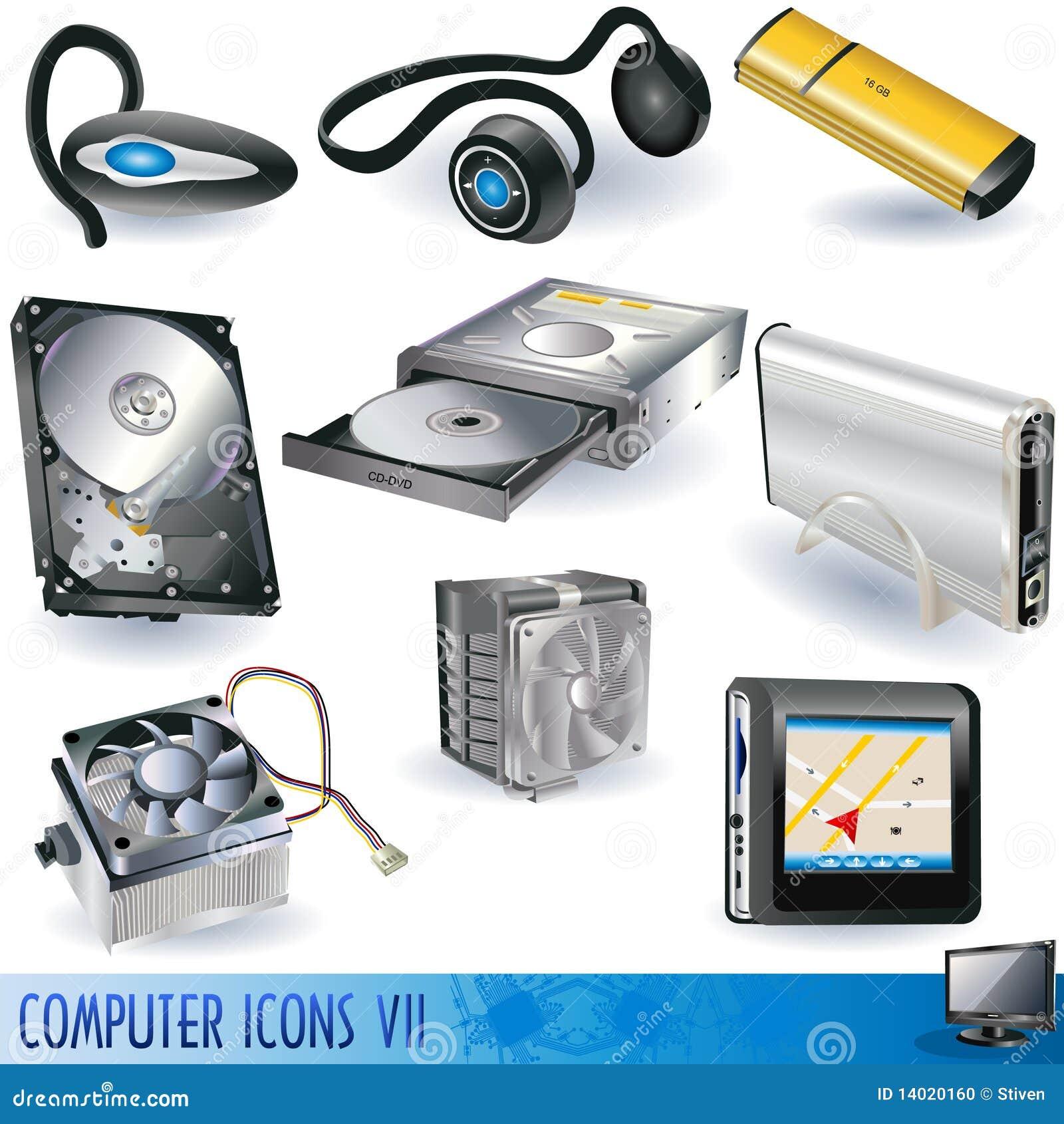 Pictogrammen 7 van de computer