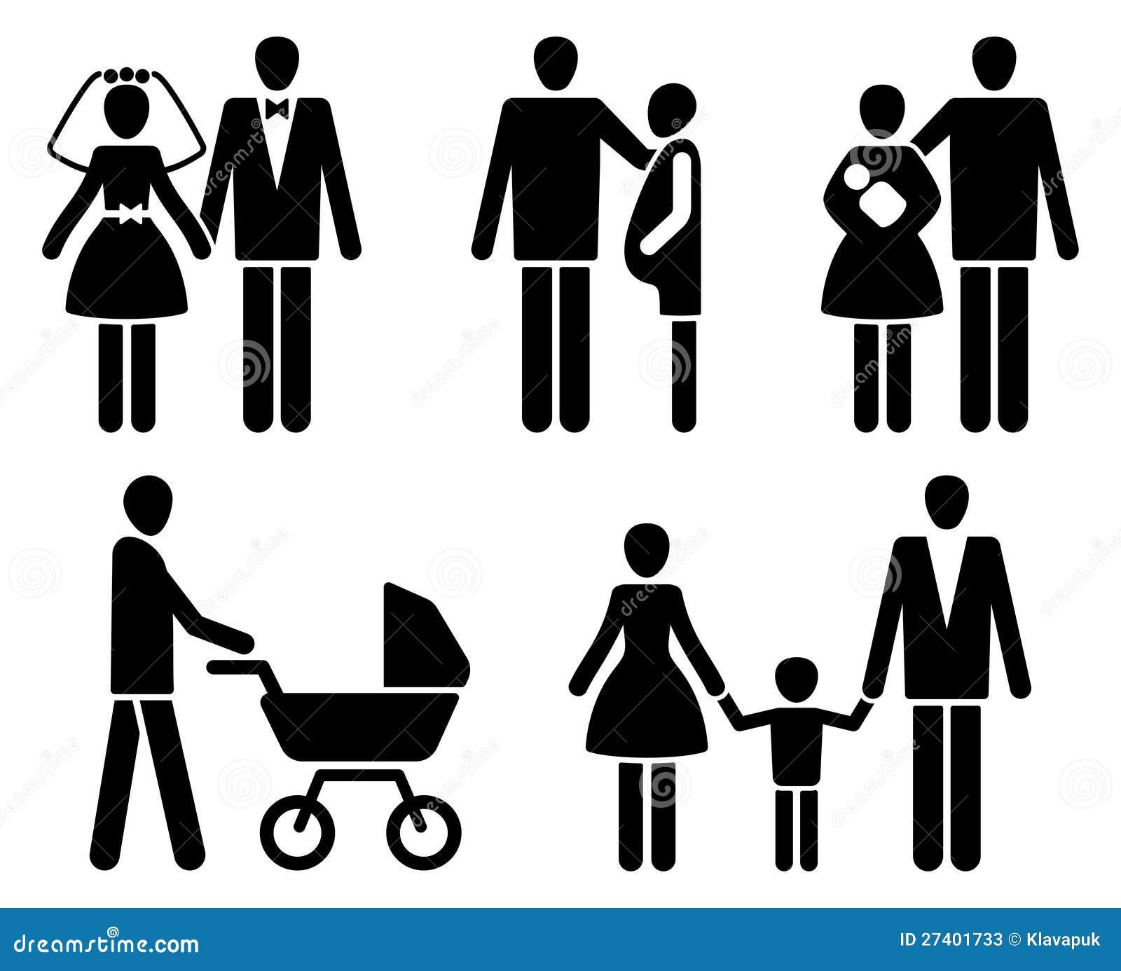 Pictogrammes da família