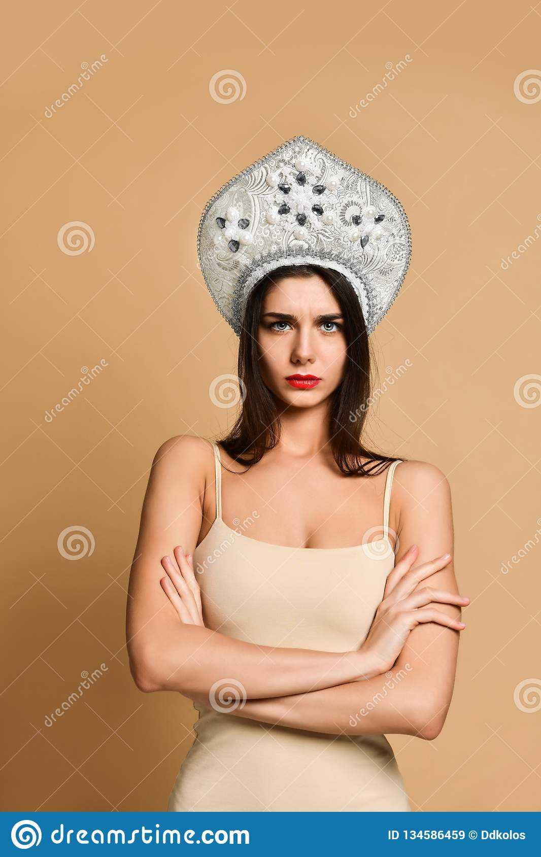 Unabashed and free to be herself   Buy Stock Photo on