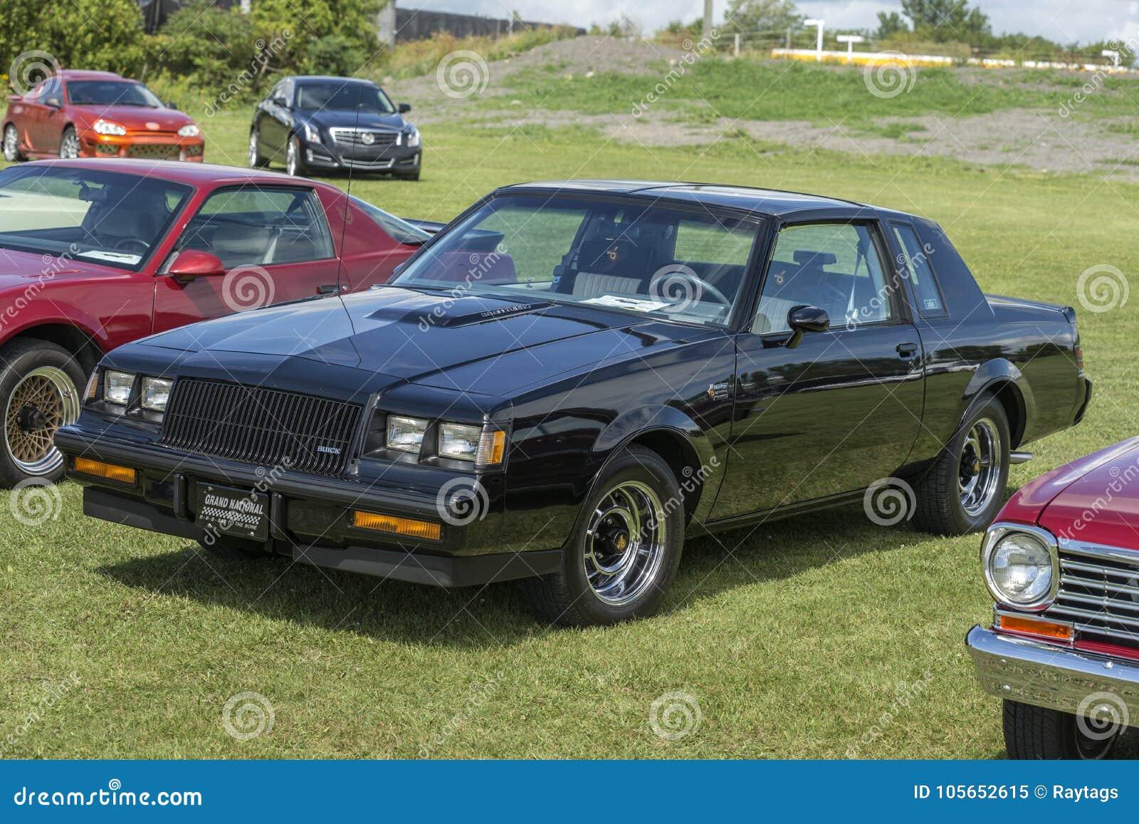 2017 Buick Grand National >> Buick Grand National Editorial Image Image Of Cars 105652615