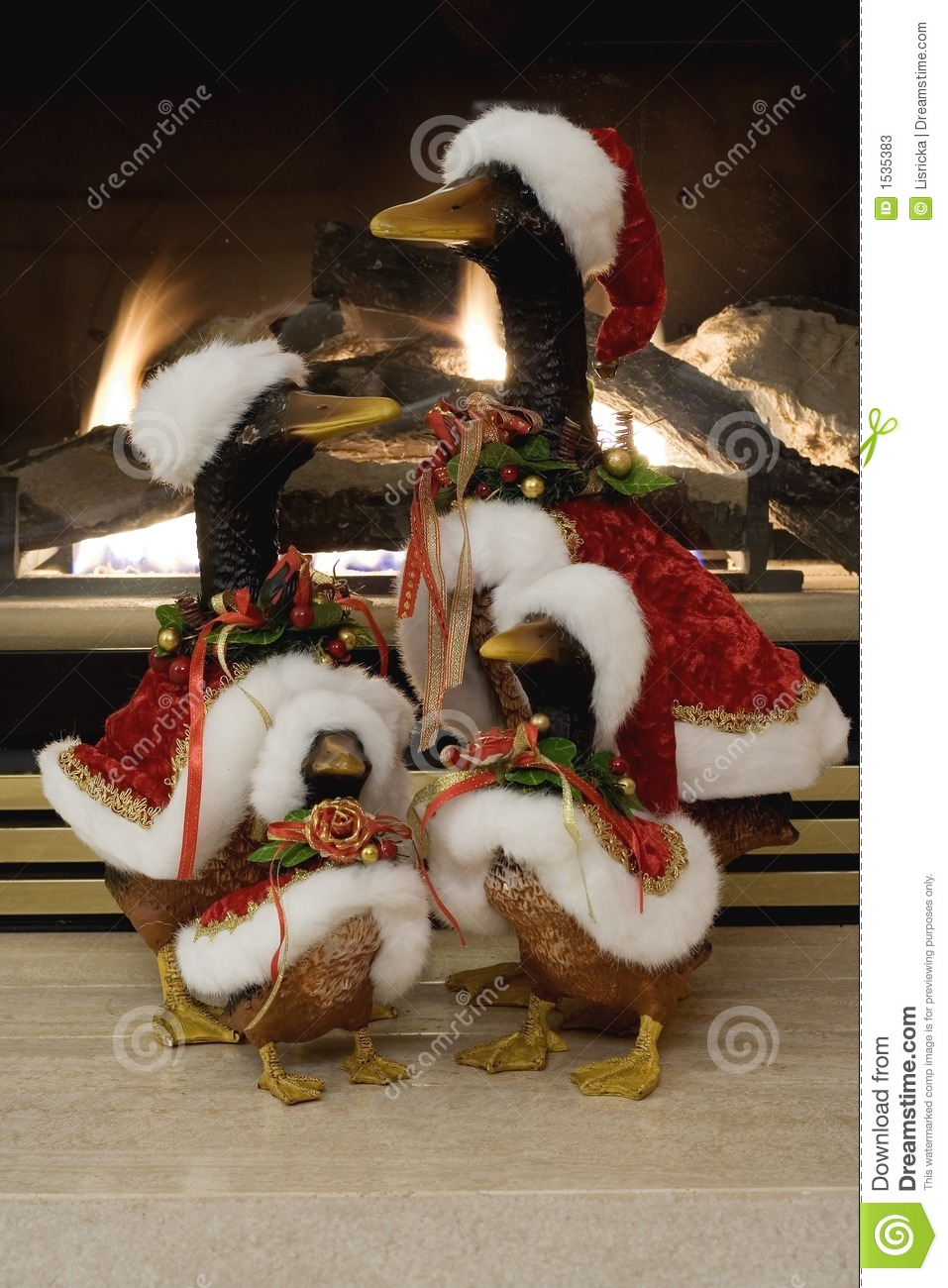 picture of christmas ducks - Christmas Duck