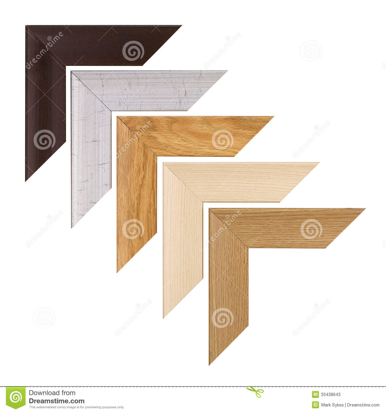 picture frame corners stock photos image 33438643