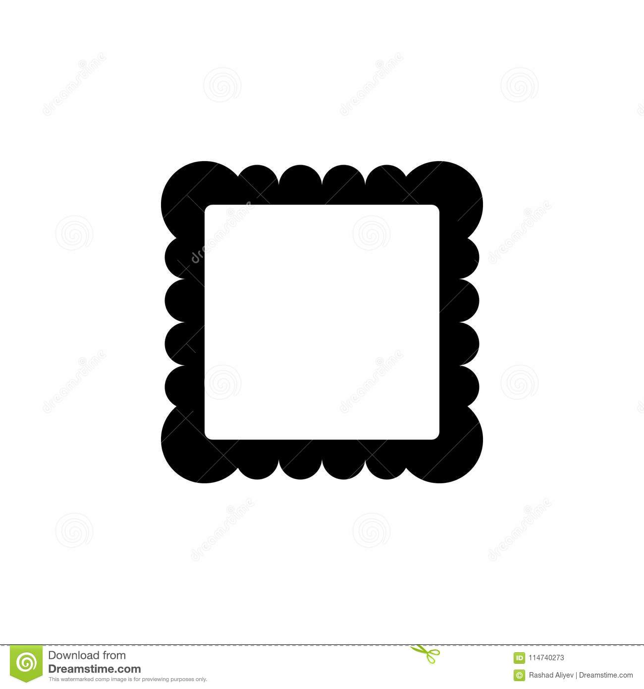 Picture Frame Icon. Element Of Minimalistic Icon For Mobile Concept ...