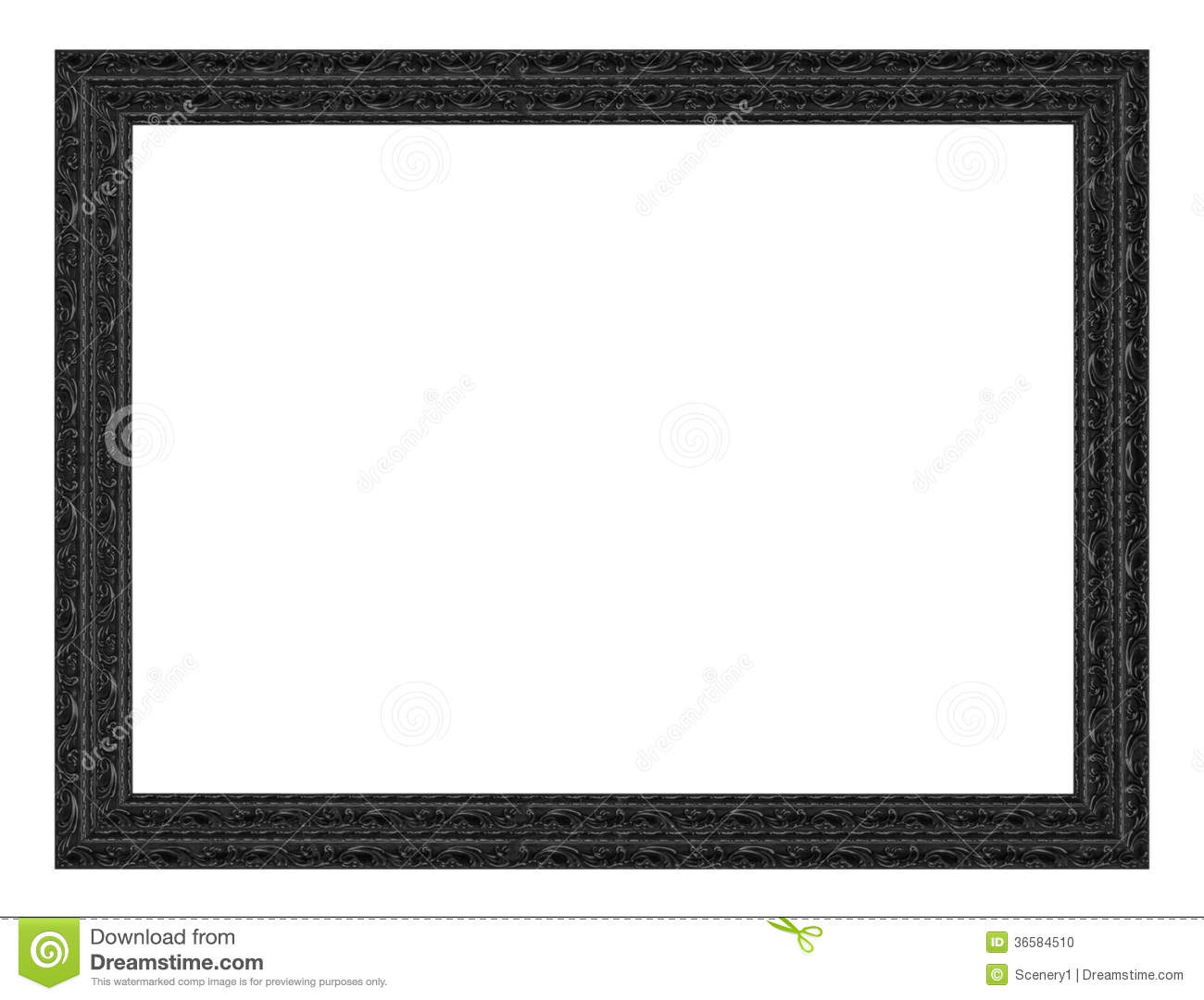Picture Frame stock photo. Image of decorative, many - 36584510
