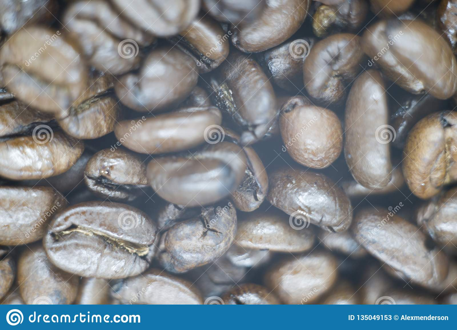 A picture of a fresh coffee beans