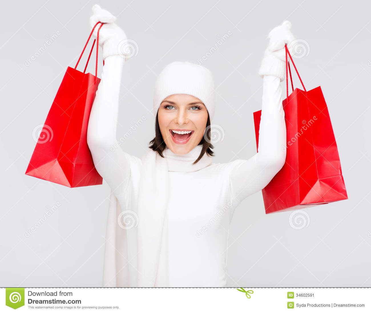 Winter clothes shopping online