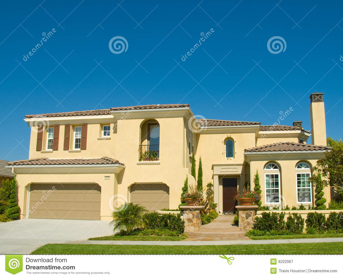 Picture Perfect Home In Nice Community Royalty Free Stock