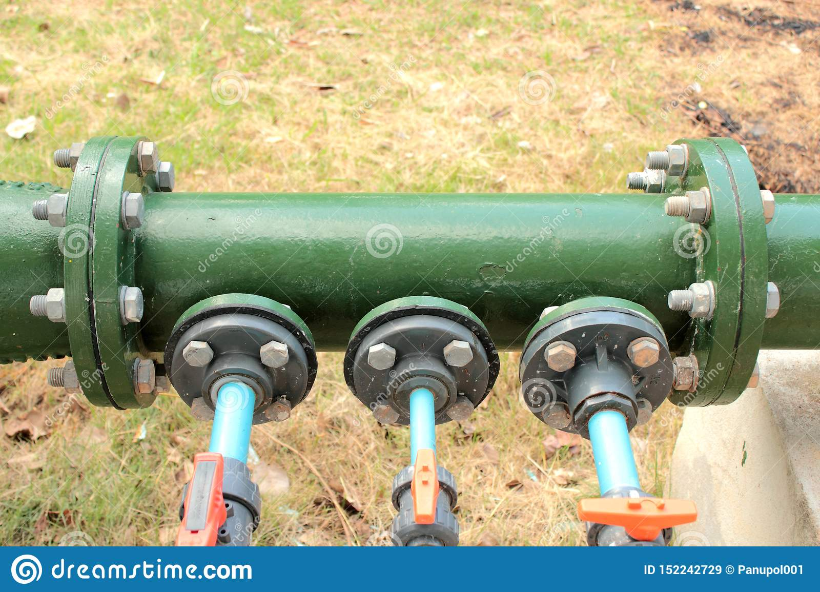 Position chemical feed in line