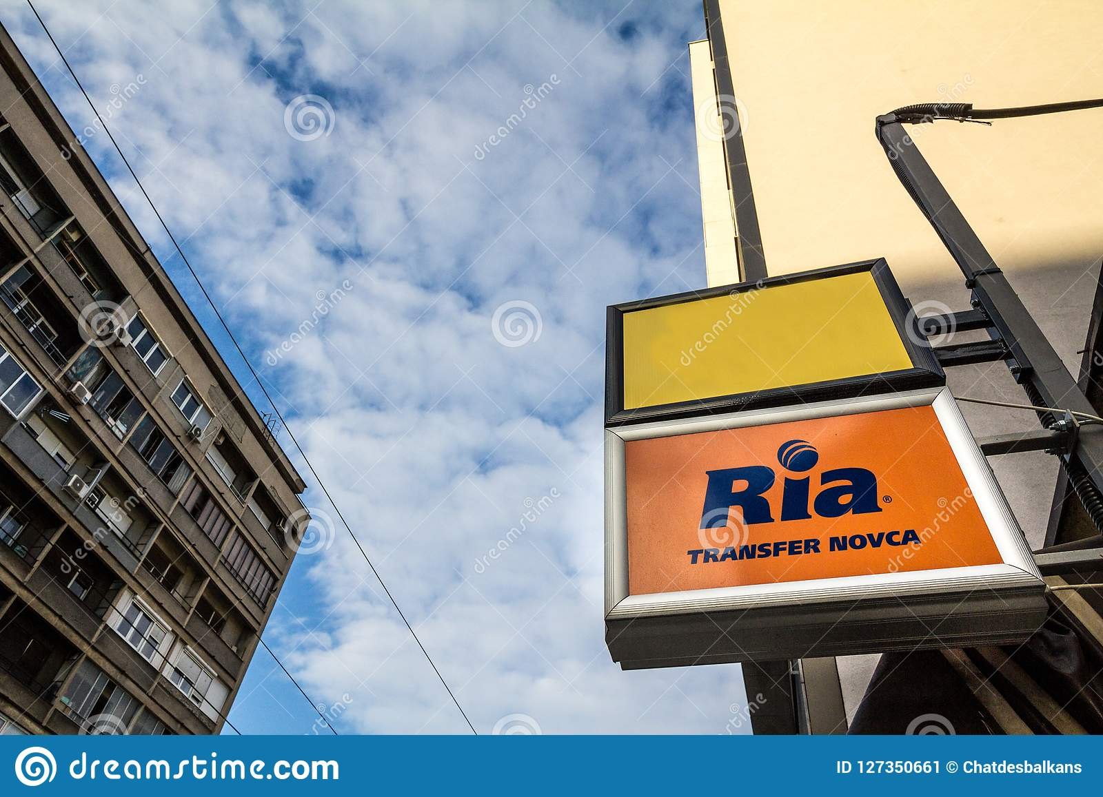 Awesome Ria Logo On Their Main Exchange Office For Belgrade Ria Is An Wiring Digital Resources Counpmognl
