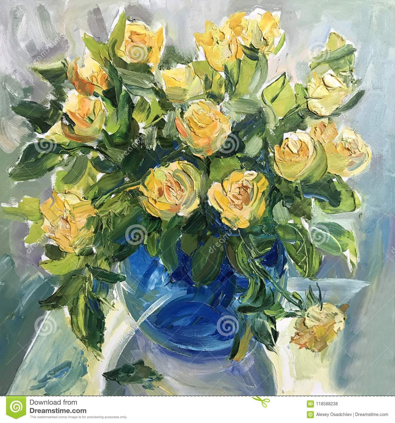 Picture Of White Roses Stock Illustration Illustration Of