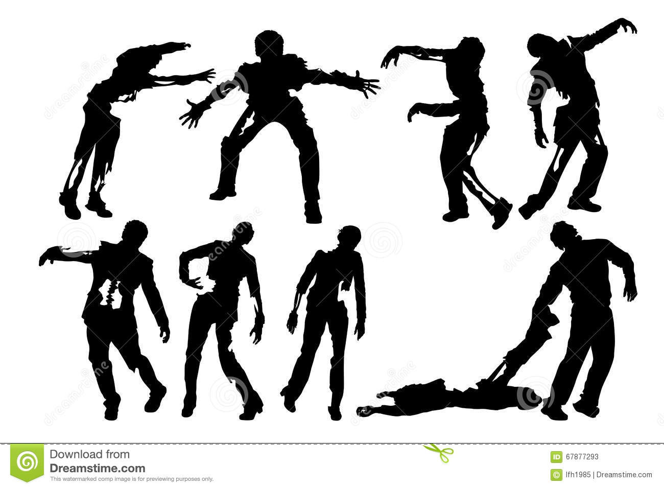 Picture of zombies
