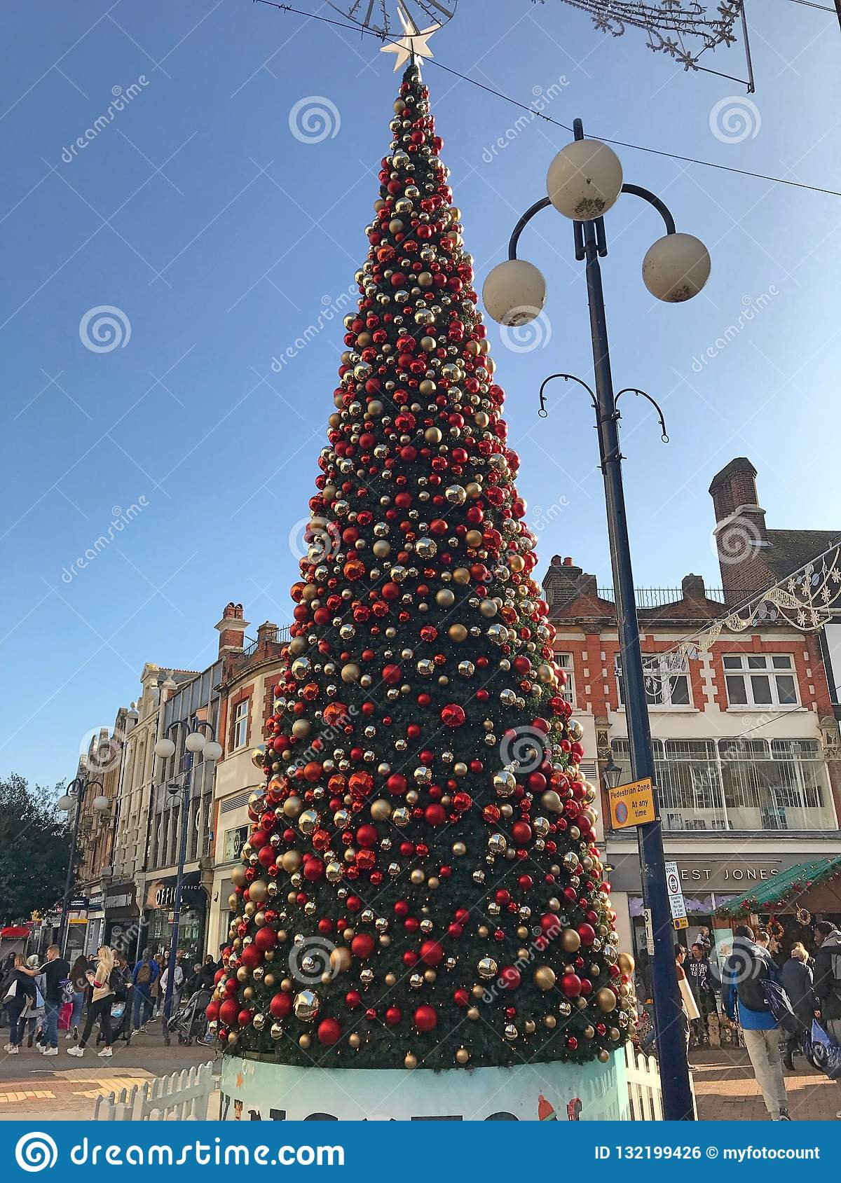 United Kingdom Christmas.Christmas Market In Kingston Editorial Photo Image Of