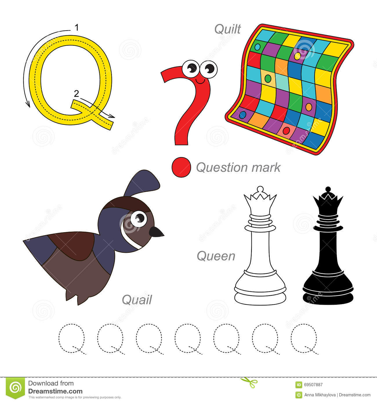 Pictures for letter q stock vector image 69507887 pictures for letter q stock vector robcynllc Image collections