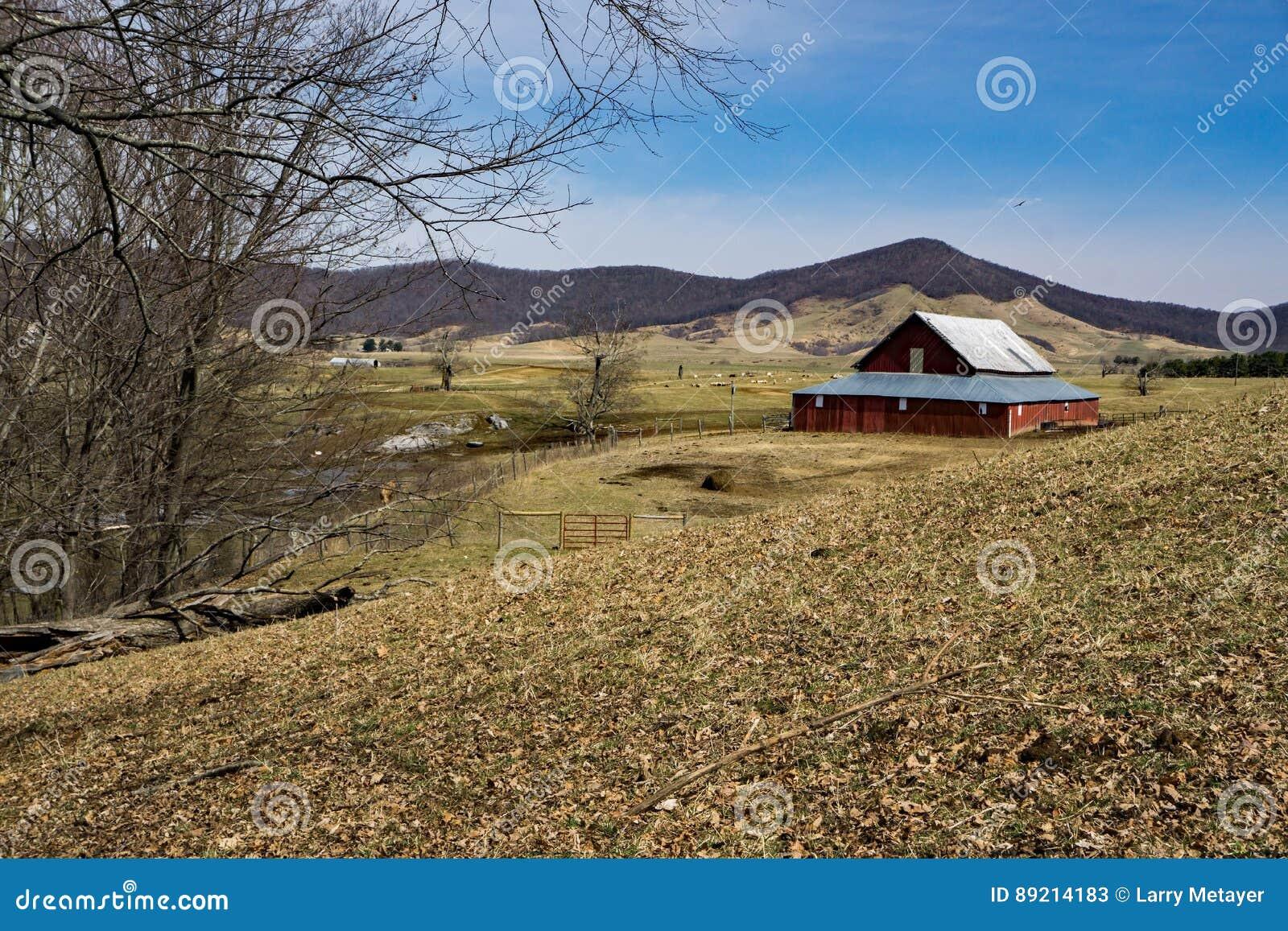 picturesque farm burkes garden virginia usa - Burkes Garden Va