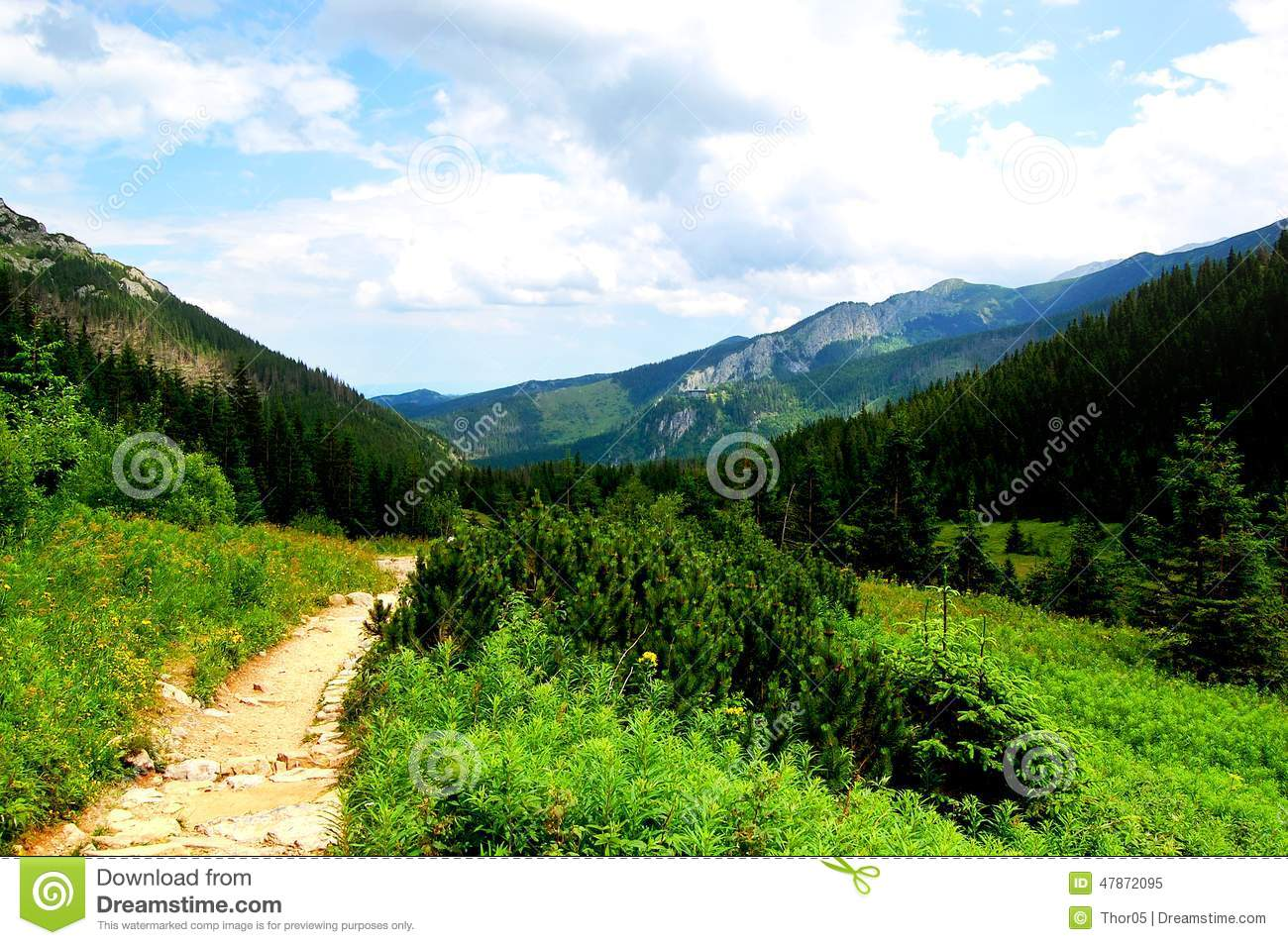 Picturesque Scenery Hua Mountain Xian Royalty Free Stock