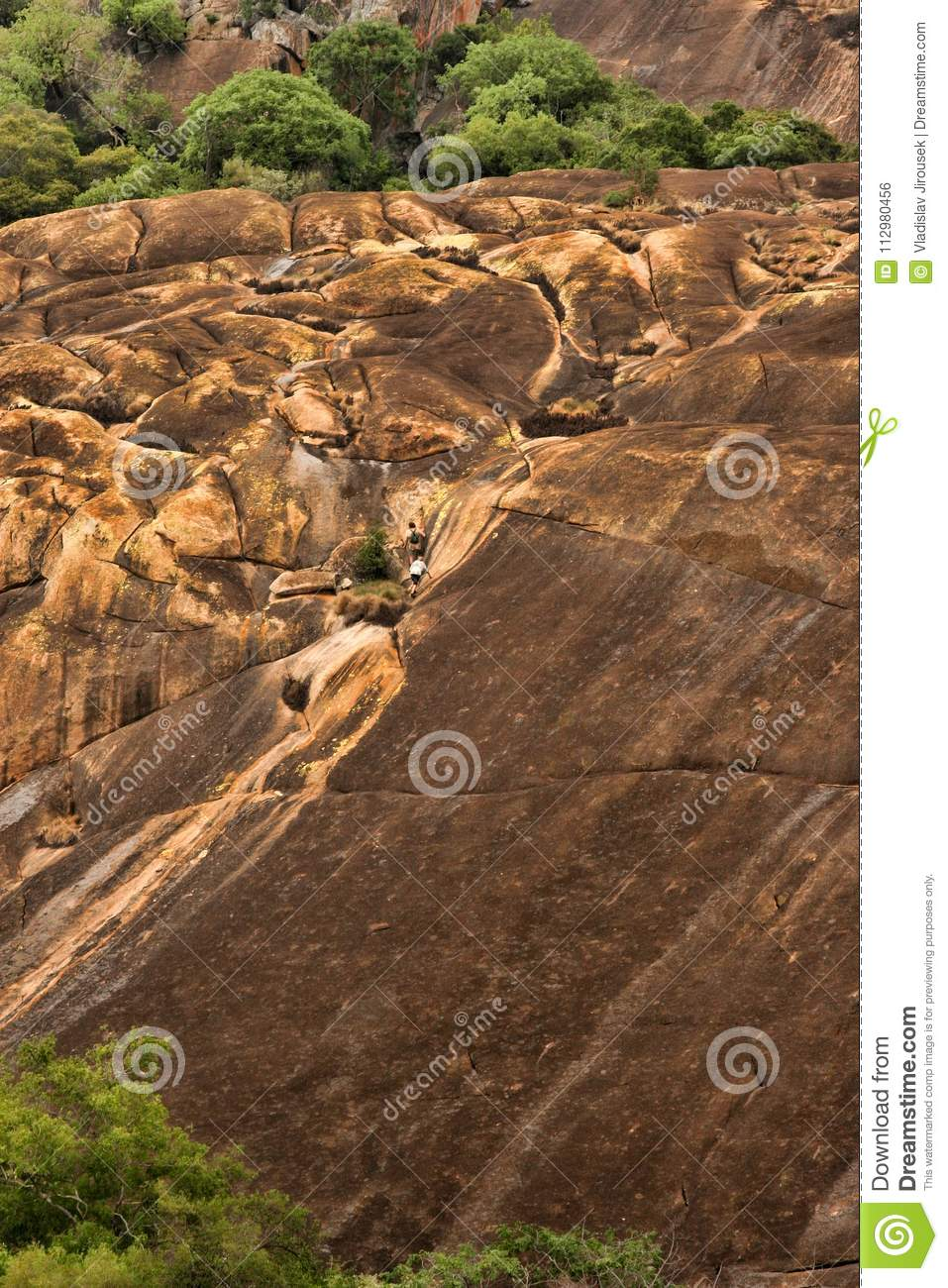 Picturesque rock formations of the Matopos National Park, Zimbabwe