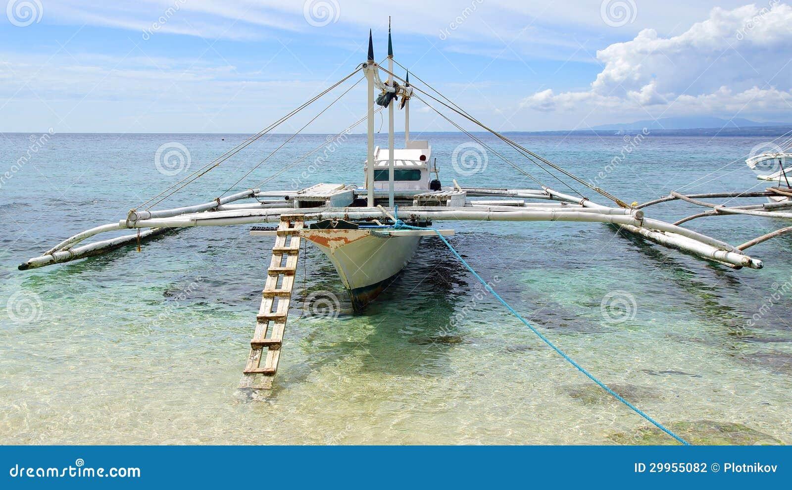 Bangka At Island, Philippines Stock Photo - Image: 29955082