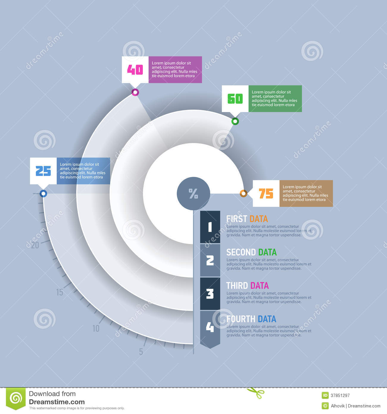Pie chart circle graph infographics element stock image image of pie chart circle graph infographics element nvjuhfo Choice Image