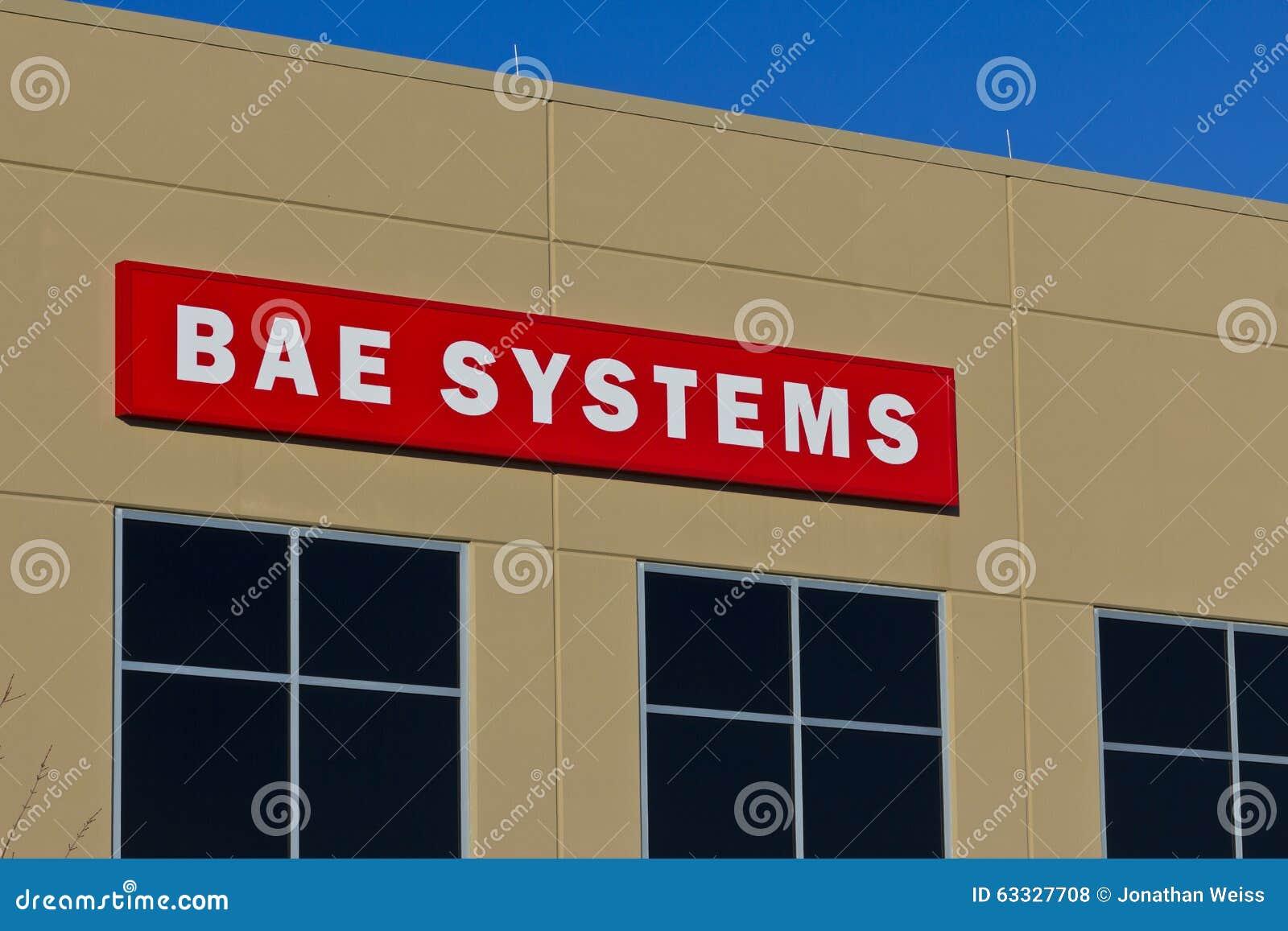 Pie Wayne, ADENTRO - circa diciembre de 2015: BAE Systems Manufacturing Facility
