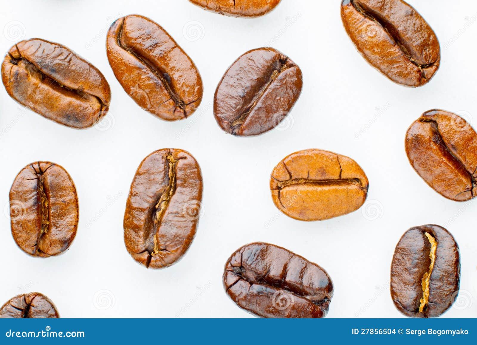 Piec kawowe fasole