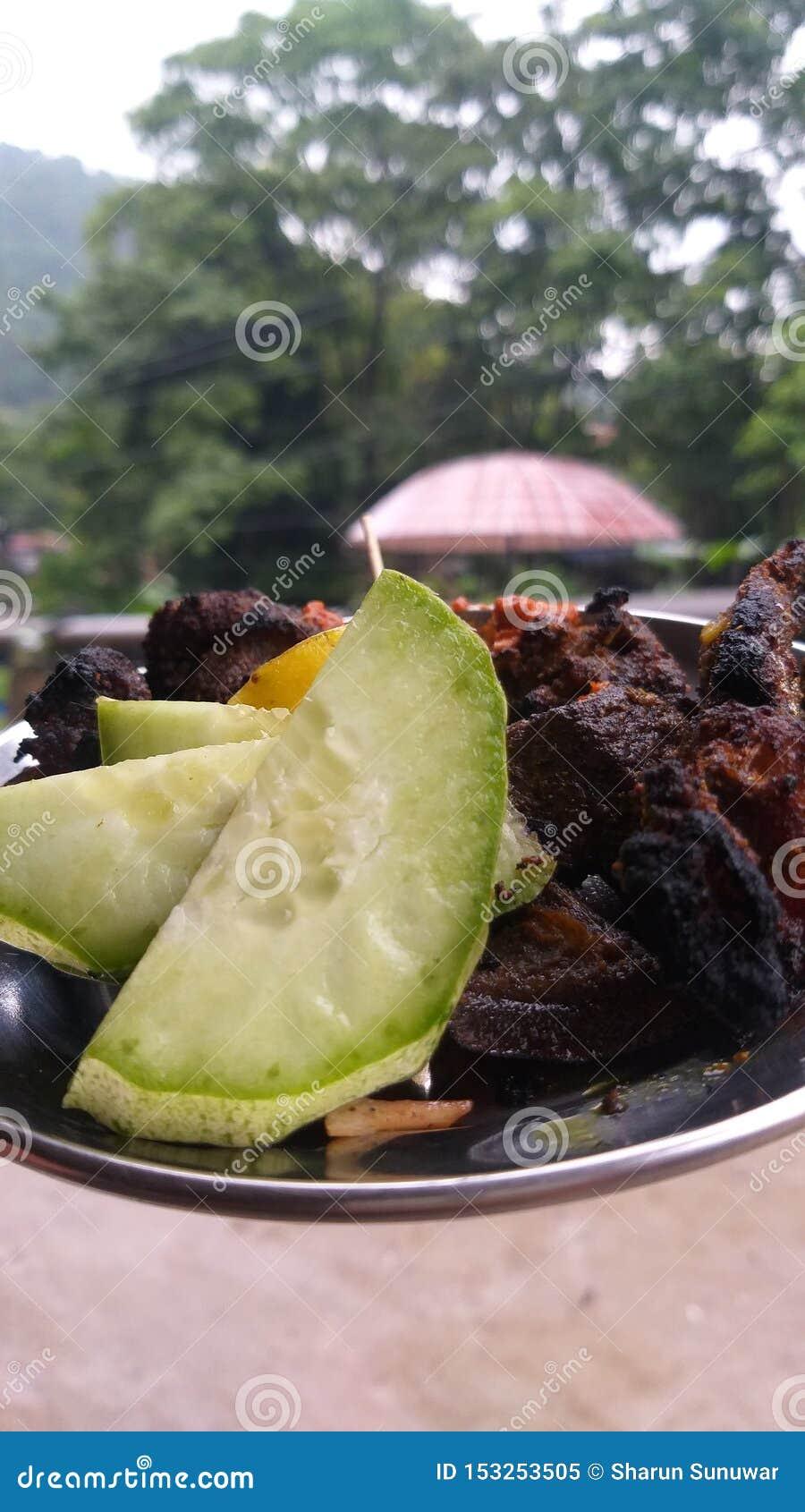 Piec na grillu bufet