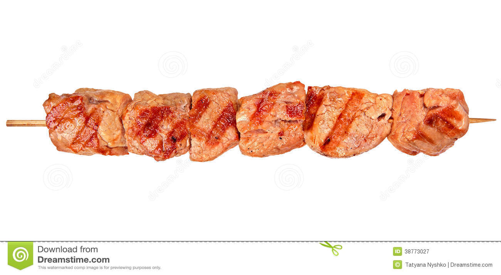 Piec na grillu kurczaka mięso